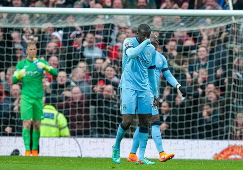 Man City nhạt nhòa trong đêm kinh hoàng ở Old Trafford