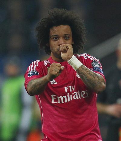 Marcelo và niềm vui ghi bàn