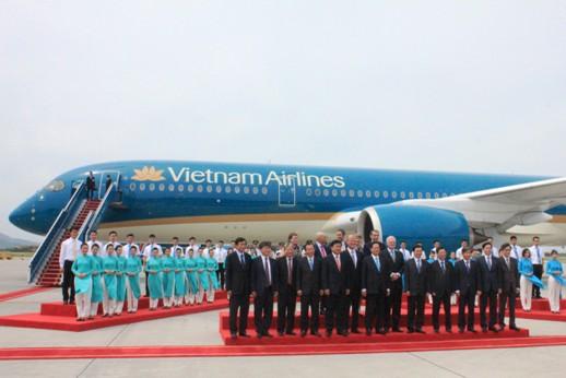 Chiếc A350XWB mới được Vietnam Airlines nhận về