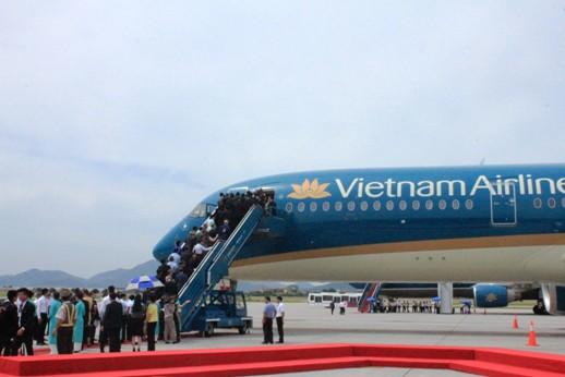 Vietnam Airlines đưa vào khai thác máy bay Airbus A350-900
