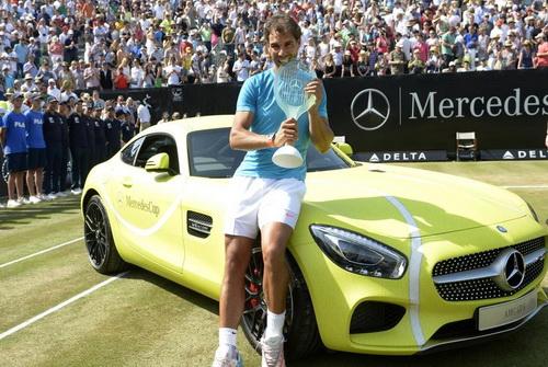 Nadal có màn khởi động khá tốt trước Wimbledon 2015