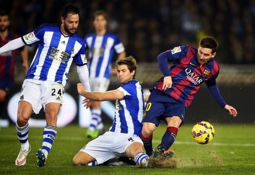 Messi và Neymar nỗ lực ở hiệp hai, Barca vẫn bại trận