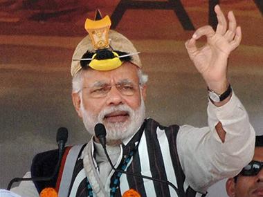 Thủ tướng Modi phát biểu tại bang Arunachal Pradesh. Ảnh: PTI