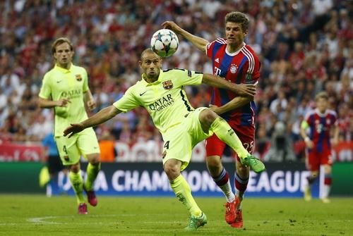 Mueeler cũng kịp lập công dù không đưa được Bayern vượt qua Barca