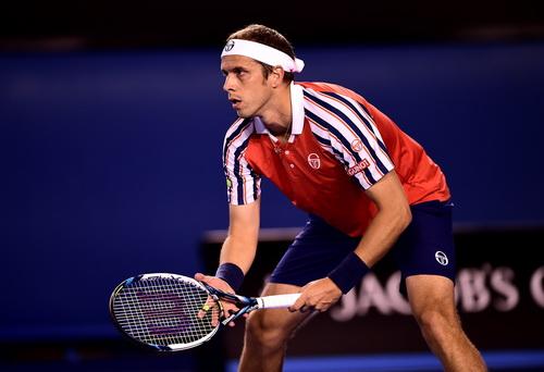 Gilles Muller gây rất nhiều khó khăn cho Novak Djokovic