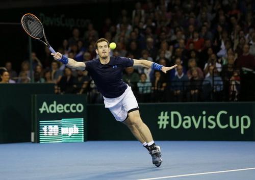 Andy Murray đưa tuyển Anh vào tứ kết Davis Cup 2015