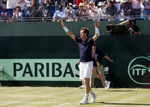 Niềm vui của Murray, niềm vui của khán giả hâm mộ London