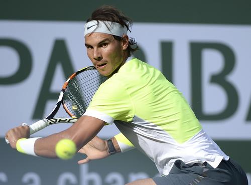 Nadal dễ dàng vượt qua tay vợt chủ nhà Donald Young