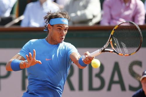 Nadal thi đấu đầy quyết tâm nhưng không vượt qua nổi vòng tứ kết