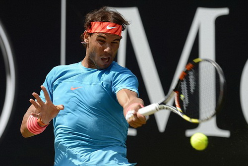 Nadal thi đấu đầy tự tin tại Mercedes Cup