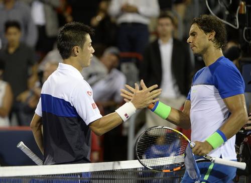 Người hâm mộ chờ màn đại chiến Nishikori - Nadal