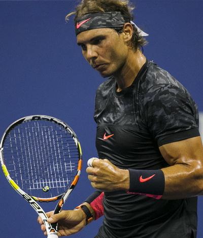 Nadal đi tiếp vào vòng hai Mỹ mở rộng 2015