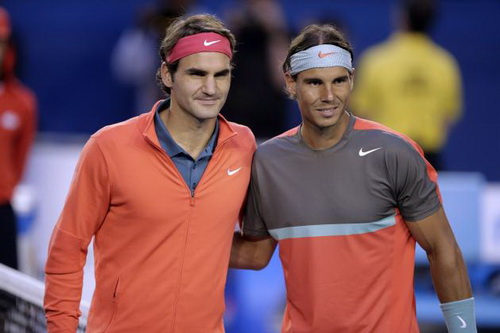 Federer và Nadal sẽ chạm trán lần thứ 11 ở chung kết các giải Grand Slam
