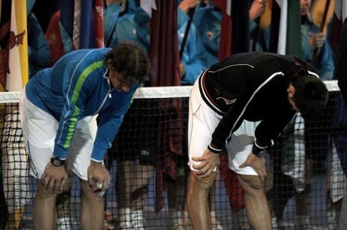 Nadal và Djokovic không còn lo mất sức thế này (chung kết Úc mở rộng 2012) nếu Fast4 được áp dụng