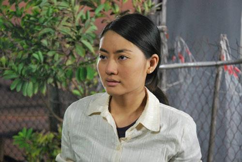 """Diễn viên Ngọc Lan trong phim """"Mặn hơn muối"""" (Ảnh do hãng phim cung cấp)"""