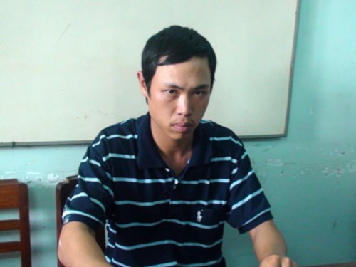 Nguyễn Duy Phương tại cơ quan côn an
