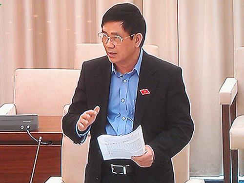 Chủ nhiệm Ủy ban Tư pháp Nguyễn Văn Hiện đề nghị thiết kế để tránh bức cung, nhục hình