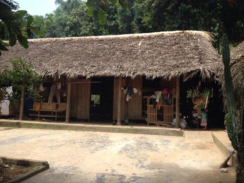 Căn nhà của người anh mà chị Nguyễn Thị Hán đang tá túc