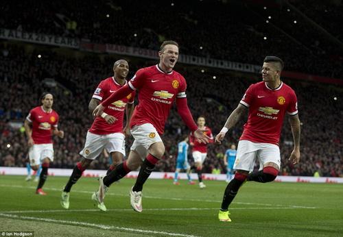 Rooney vẫn là đầu tàu của Man United lẫn tuyển Anh
