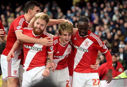 Middlebrough vui sướng sau khi đánh bại Man City ngay tại Etihad