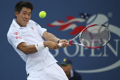 Kei Nishikori khiến cả châu Á lên cơn sốt tại giải Mỹ mở rộng 2014