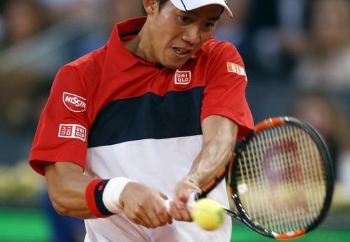 Nishikori quá vất vả trong lần tái ngộ Djokovic