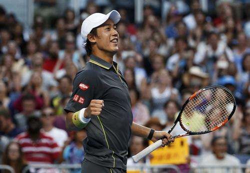 Nishikori quá mạnh khi đối đầu cùng David Ferrer