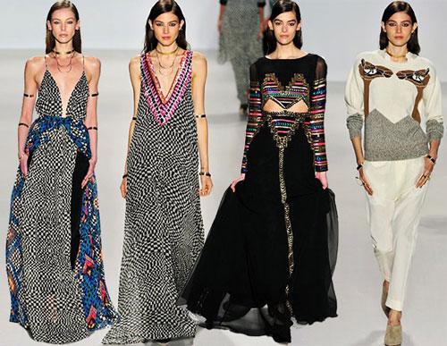 Một cảnh trình diễn thời trang của người mẫu tại New York Fashion Week 2015 Ảnh: NEW YORK FASHION WEEK