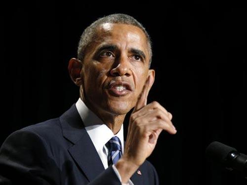 Tổng thống Mỹ Barack Obama cam kết tăng cường sự can dự và đầu tư ở châu Á - Thái Bình Dương Ảnh: REUTERS