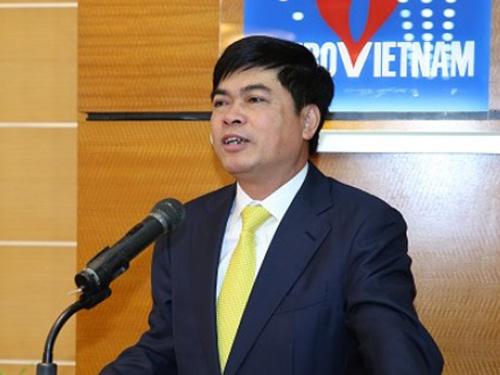 Ông Nguyễn Xuân Sơn khi còn là chủ tịch của PVN
