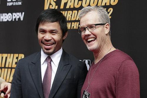 Pacquiao và HLV Freddie Roach