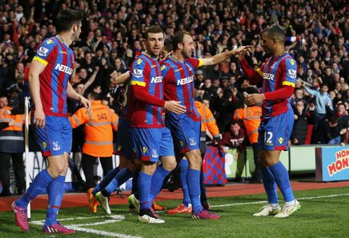 Niềm vui chiến thắng của Palace