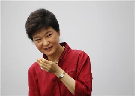 Tổng thống Hàn Quốc Park Geun-Hye. Ảnh: Reuters