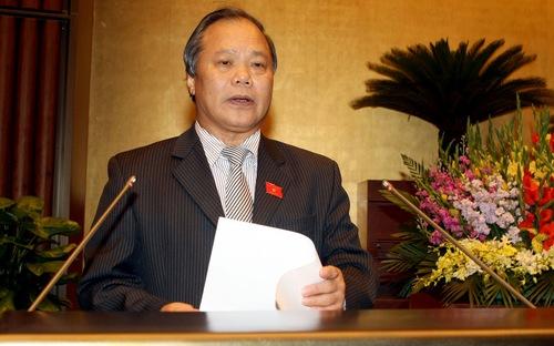 Chủ nhiệm Ủy ban Pháp luật Phan Trung Lý - Ảnh: Vneconomy