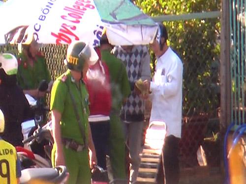 Một vài người dân bị Đội Cảnh sát TT-CĐ Công an huyện Thống Nhất xử phạt