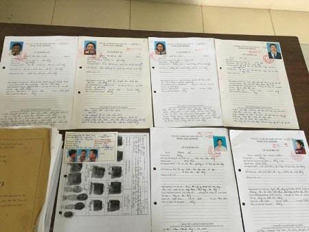Hồ sơ các đối tượng trong vụ án mua bán trái phép hóa đơn và trốn thuế tại Bảo Lộc