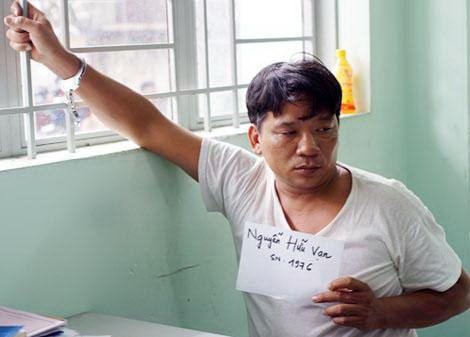 Chỉ vì tranh chấp lối đi, Nguyễn Hữu Vạn đã dùng lửa đốt chết một người Ảnh: Như Phú