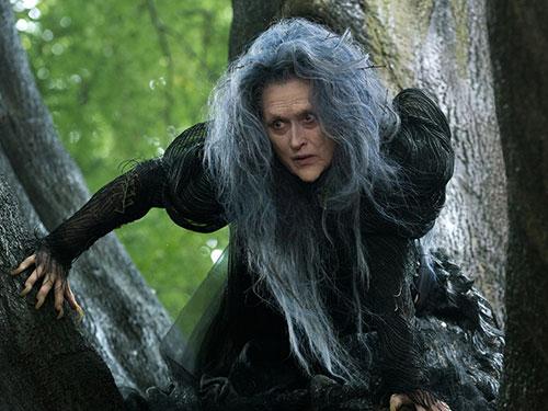 Meryl Streep vai phù thủy trong phim Khu rừng cổ tích