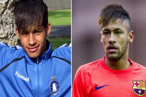 Bản sao Cotter giống hệt bản chính Neymar