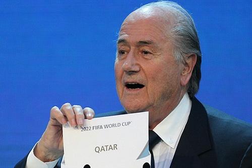 Qatar nhận quyền đăng cai World Cup 2022 khá nhiều điều tiếng