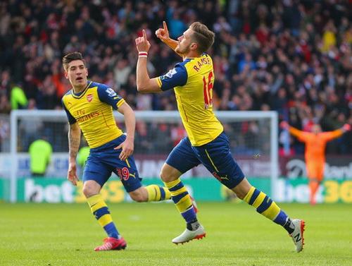 Niềm vui chiến thắng của Arsenal