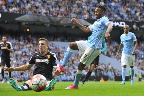 Raheem Sterling lập công cho đội bóng mới Man City