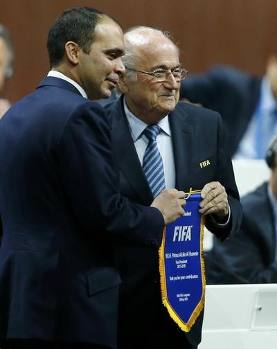 Hoàng thân Ali bin Al Hussein thừa nhận thất bại trong cuộc bầu cử chủ tịch FIFA