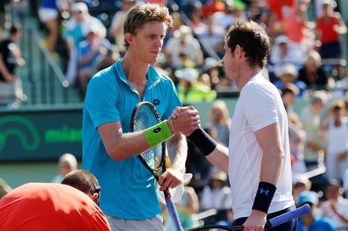 Murray giành chiến thắng trước Anderson...