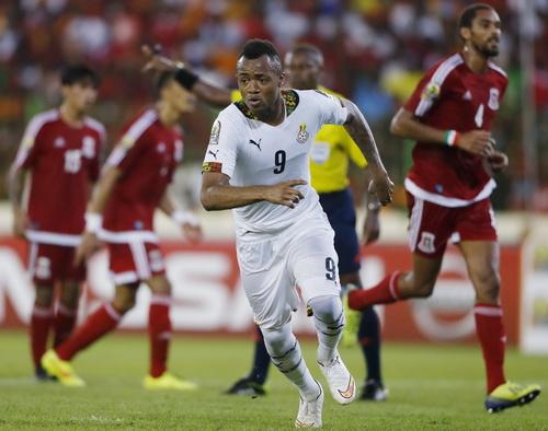 Andre Ayew - con trai của danh thủ Abedi Pele - là trụ cột của tuyển Ghana