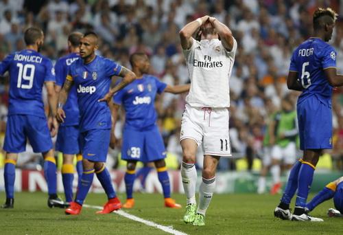 Gareth Bale thất vọng sau một pha tấn công