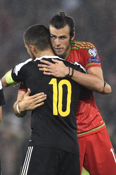 Bale va Hazard sau trận đấu