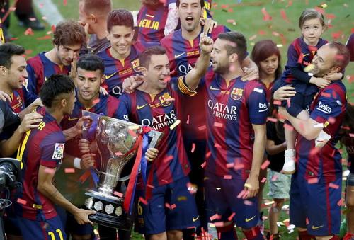 Barcelona có một đoạn kết trọn vẹn tại La Liga mùa này