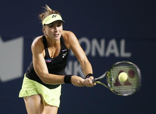Belinda Bencic thi đấu đầy hưng phấn ở WTA Cincinnati