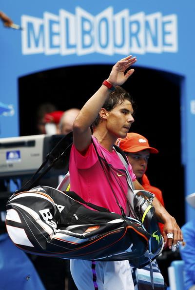 Nadal ngậm ngùi chia tay giải Úc mở rộng 2015